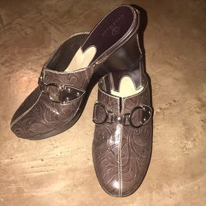 Cole Haan Brown Mules size 7 1/2